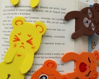 foam bookmark hamser mouse colourful funny kawaii
