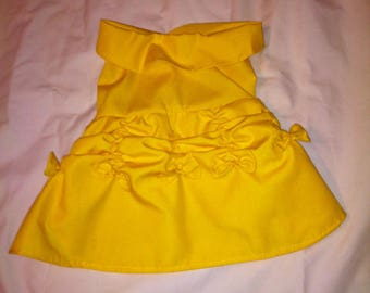 Princess Belle Pet Costume from Beauty and tje Beast in XS to XL