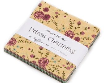 PRINTS CHARMING - Charm Pack - by Sandy Gervais for Moda - 17840