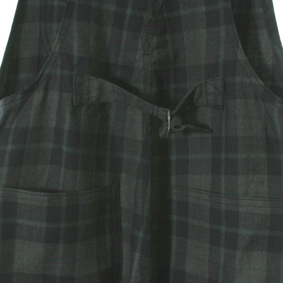 Des Plaid Ladies Overalls Check Junya Garcons Watanabe Small Comme gwIqE8