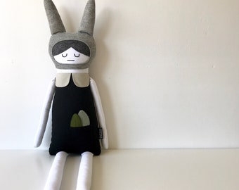 Six Handmade Doll With Pocket Detail