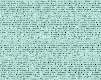 A LITTLE SWEETNESS By Tasha Noel for Riley Blake Text Mint
