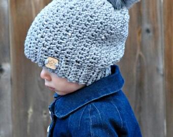 Mackenzie Slouch Hat crochet pattern pdf