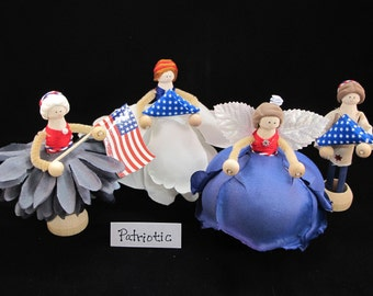 Patriotic Fairies and Dolls