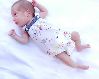 Baby Romper Pattern : Boy Romper Pattern, Toddler romper, Baby romper, Romper Pattern, Romper, Jumper Pattern, Romper PDF