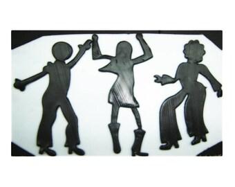 Silhouette Disco Dancers Cutters Set