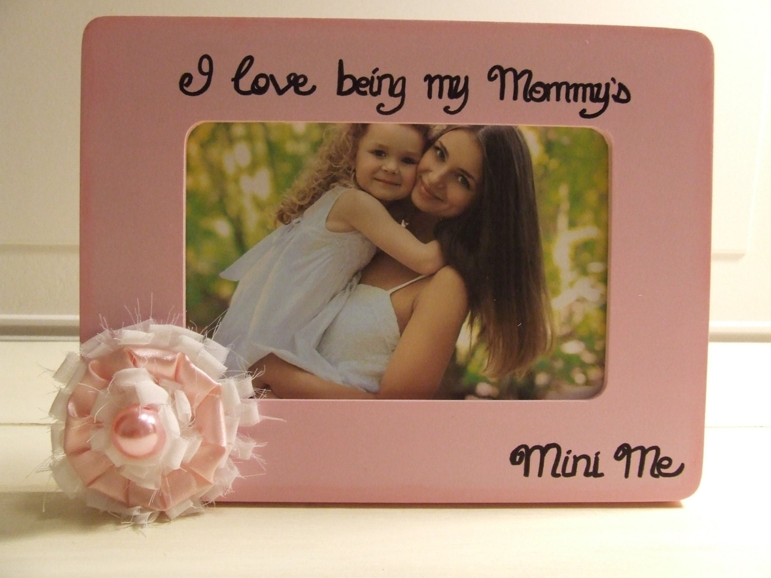 Baby girl frames Mommy and daughter frame Baby shower gift Me and ...