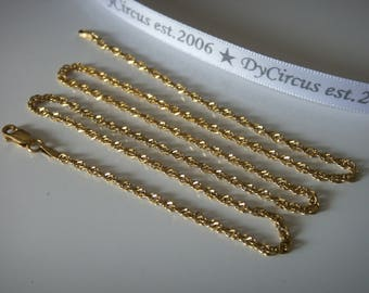 "Milor Gold Vermiel 20"" Chain"