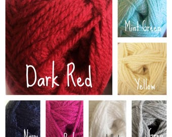 Double Knitting Yarn - 21 colours