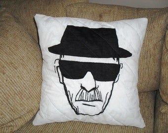 Heisenberg Breaking Bad Pillow