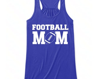Football Mom Tank Top, Football Tank Top For Mom, Football Mom Clothing, Tank Tops For Football Moms, Football Clothing For Mom, Mom Tank