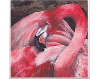 Trivet: Flamingo