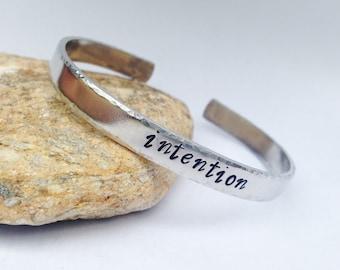 Intention- Cuff Bracelet