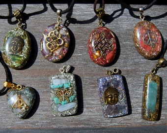 Orgonite® Pendant Orgone Pendant Necklace  Gift Gifting Sale Bargain
