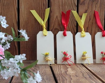 Flower Pot with Flowers Gift Tags,Gift Tags,Birthday Gift Tags,Mothers Day Gift Tags,Birthday Gift Her,Gift For Women,Gift For Friend,4 Tags