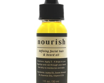 Nourish Facial & Beard Oil