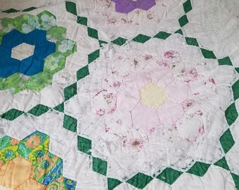 Rag Flag Lap Quilt 42 X 27 And Larger 53 X