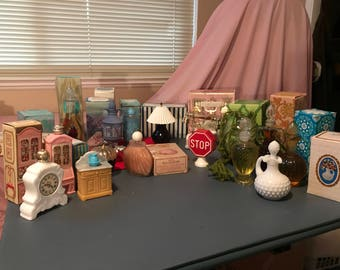 Avon Collectible Bath Items - PRICE REDUCED!!!