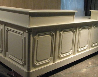 Cottage White 15 foot sales counter