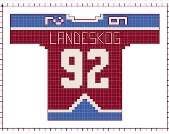 Gabriel Landeskog Colorado Avalanche Home Jersey