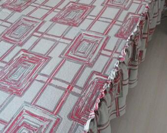 Original coverlet, bedspread of the 50s