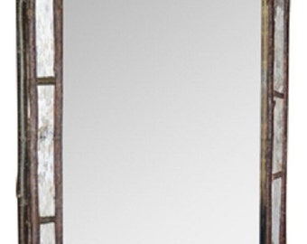 Birch Bark & Twig Mirror Large