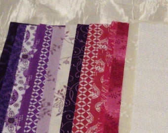 Pink and Purple 10 X 10 Quilt squares