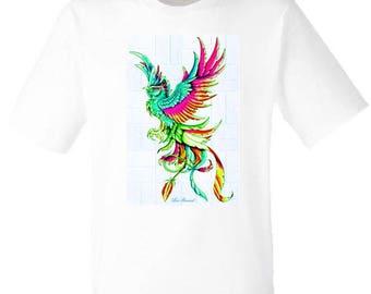 T-shirt for men and women bird