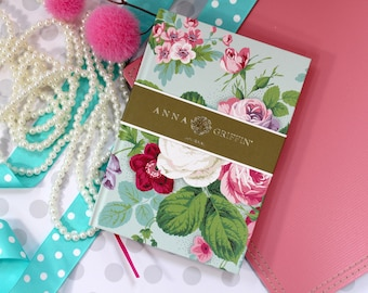 Anna Griffin Collection Amelie Floral Collection Hardcover Bound Journal