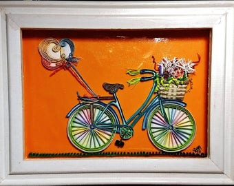 bicycle dream ~ by Willowbrook Creations