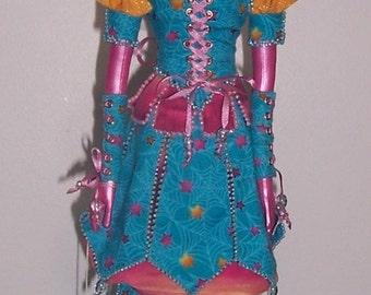 OOAk Art Doll cloth by Charie Wilson