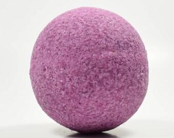 Lilac Bath Bomb with Epsom Salt - Bath Bomb, Moisturizing Freshly Handmade Bath Fizzy