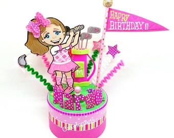 Sport Cake topper, Football cake topper, Soccer Birthday cake topper, Baseball cake topper, Golf cake topper, Hockey cake topper, Basketball