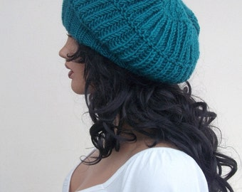 Oil Green slouch hat-berets