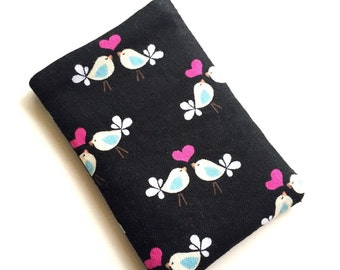 Limited quantity - Pill Case Birth Control Pill cozy- Tiny Love Birds