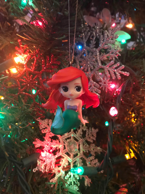 zoom - Little Mermaid Christmas Ornaments