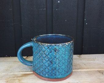 Ceramic Mermaid Mug