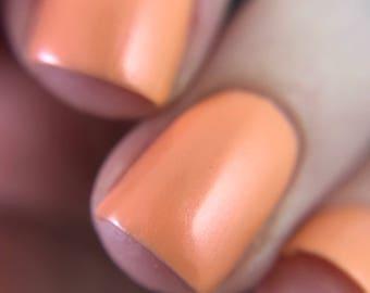 Portland Sunset ~ Orange Shimmer Polish