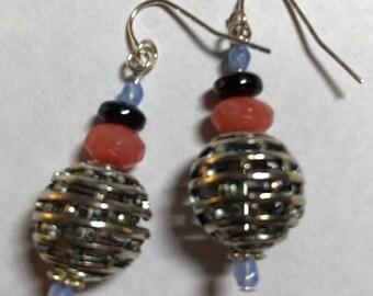 Earrings - Silver Balls