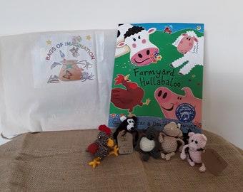 Farmyard Hullabaloo story bag