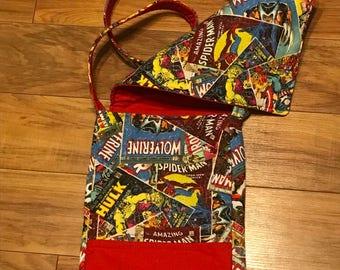 Comics crossbody bag