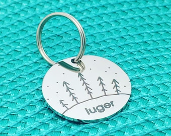 Personalised Dog Tag, Dog Name Tag, Personalized Dog Tag, Dog Tag, Pet ID Tag, Custom Dog Tag, Custom Pet Tag, Dog Name Tag, Cute Dog Tag
