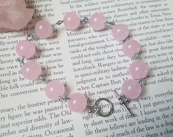 Pink Chalcedony Bracelet