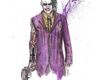 Joker Original Concept Art Print