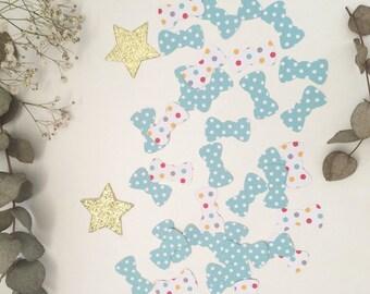 Decorative 50 confetti bow ties