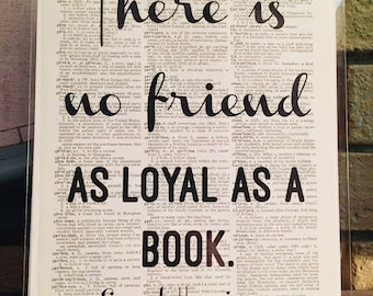 There Is No Friend... Print