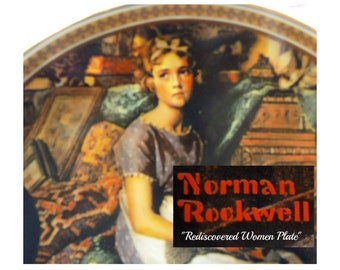 Norman Rockwell plate -Norman Rockwell limited edition plate - Rockwell decor - Rockwell collectible - Knowles plate - Rockwell plates  # 97