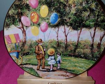 1979 The Balloon Man Plate