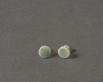 Ceramic earrings. Porcelain earrings. ceramic jewellery. porcelain jewelry. Handmade jewellery.stud earrings.post earrings.handmade earrings