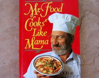 Mr food recipe book etsy mr food cook book mr food cooks like mama cookbook 1992 mr food cookbook forumfinder Images